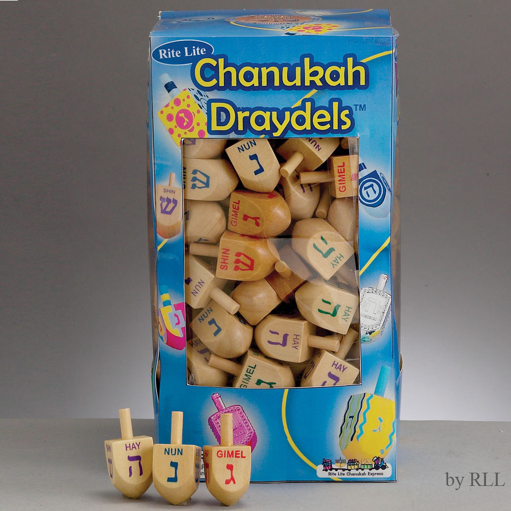 Small  Wooden Dreidel