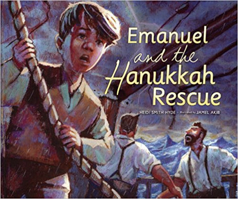 Emanuel and the Hanukkah Rescue by Heidi Smith Hyde