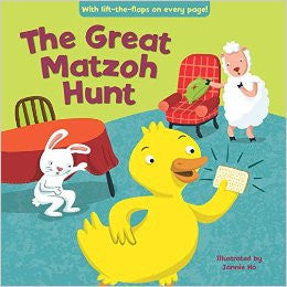 The Great Matzoh Hunt by Jannie Ho