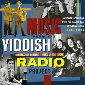 Music From The Yiddish Radio Project Audio CD