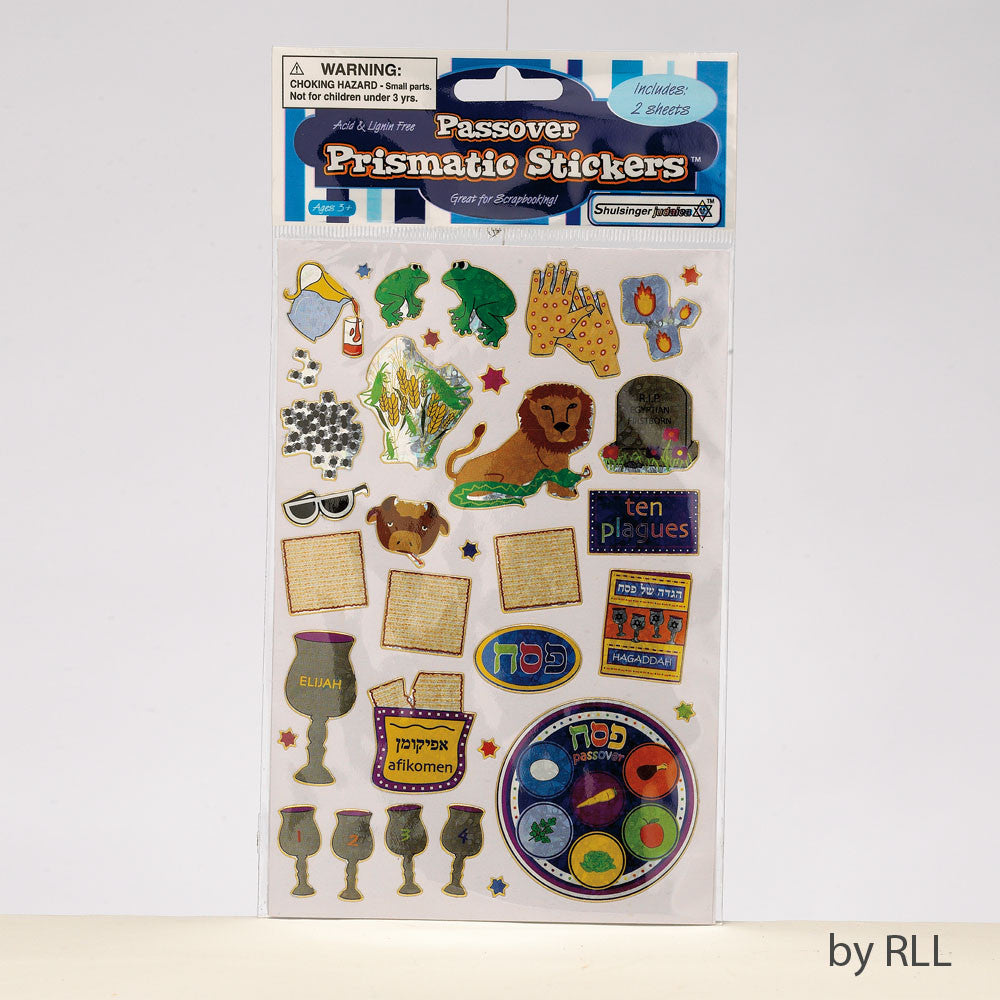 Prismatic Passover Stickers