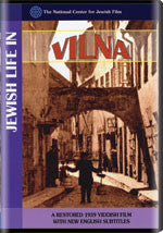 Jewish Life in Vilna from the archives of The National Center for Jewish Film DVD