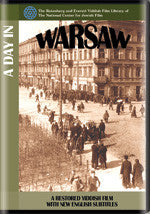 A Day in Warsaw from the archives of The National Center for Jewish Film DVD