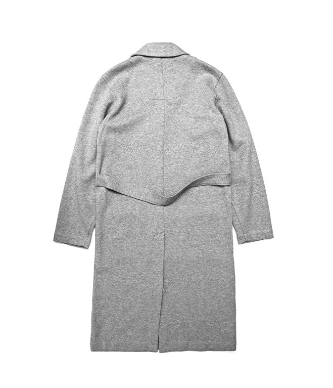 Unisex Tailored Grey Top Coat, jacket, Wisdom Apparel, - nois