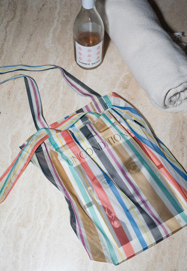The Market Tote Bio-Knit Rayas Stripe