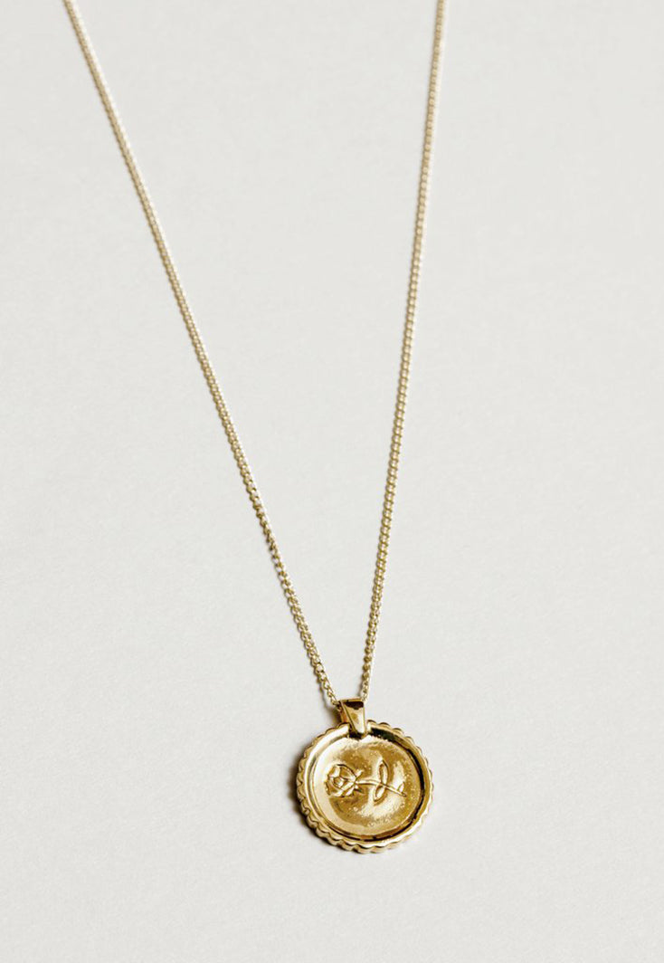 Rosie Necklace Gold, jewelry, Wolf Circus, - nois