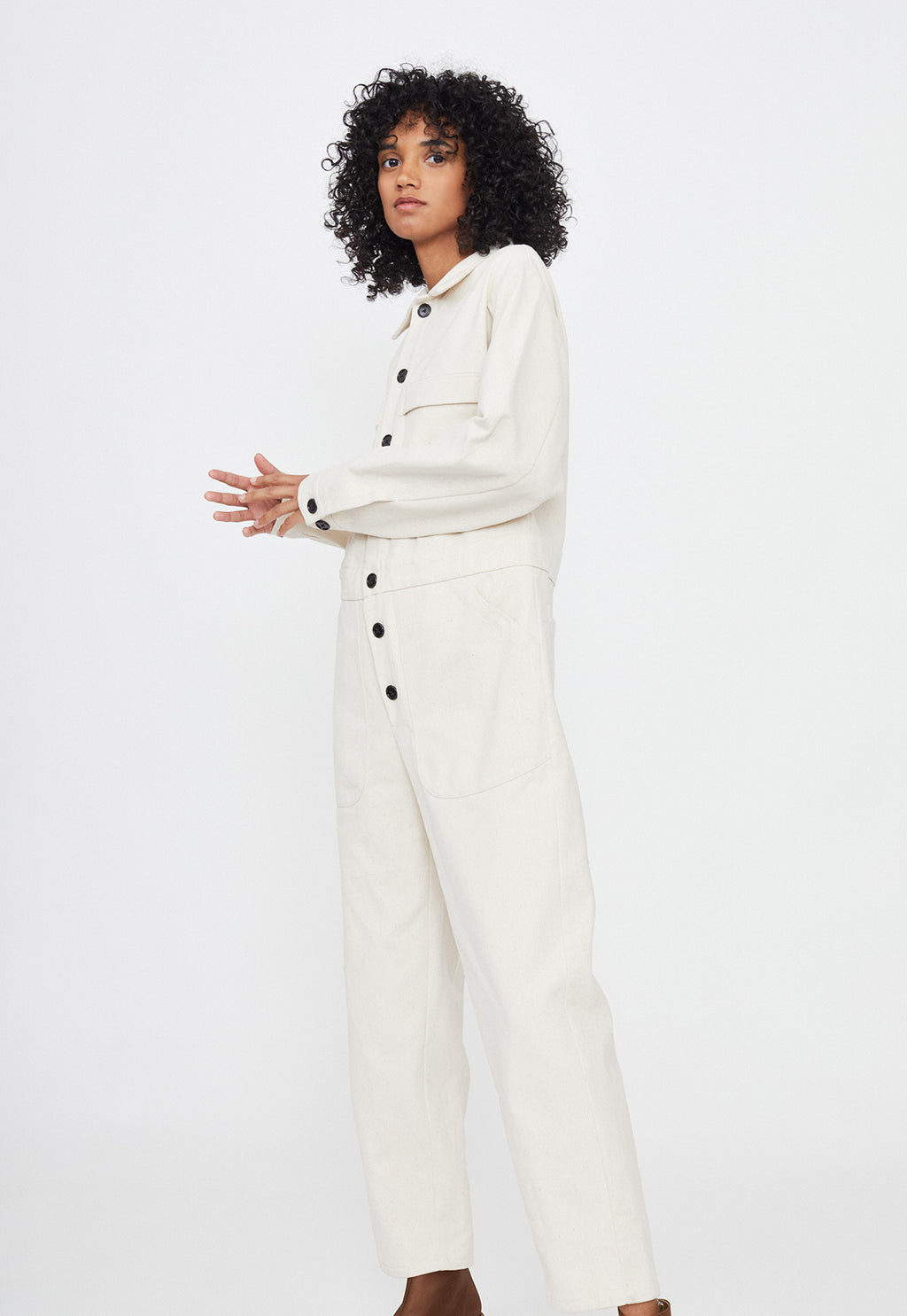 Floyd Flight Jumpsuit in Fiber