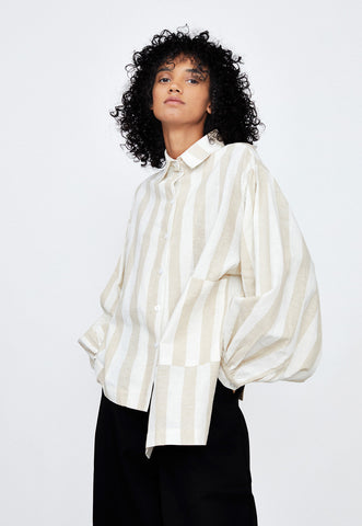 Stripe Robe Shirt