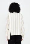 Elisa Top in Beige Stripe, top, Tigre et Tigre, - nois