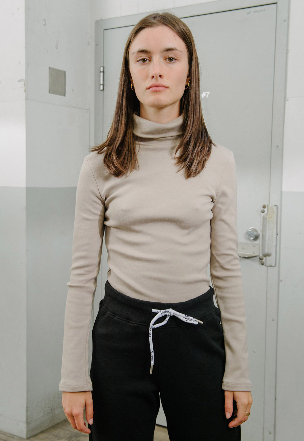 Torretto Turtleneck in Slate, top, Priory, - nois