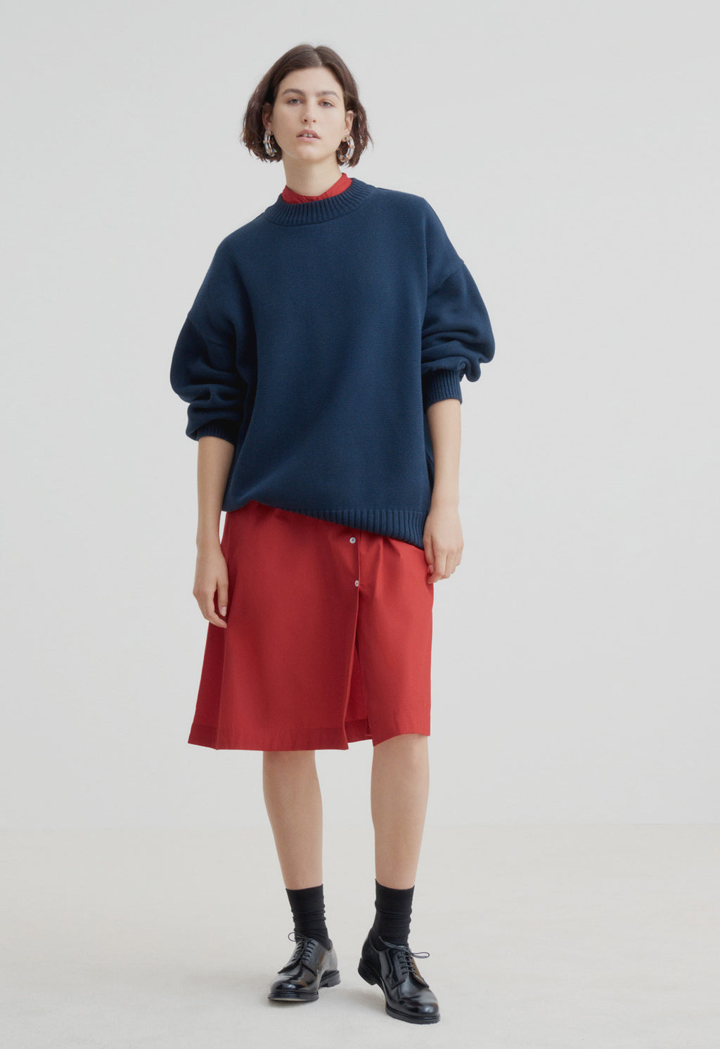 Arc Jumper Navy, Sweater, KOWTOW, - nois