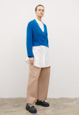 Composure Cardigan Buoy Blue