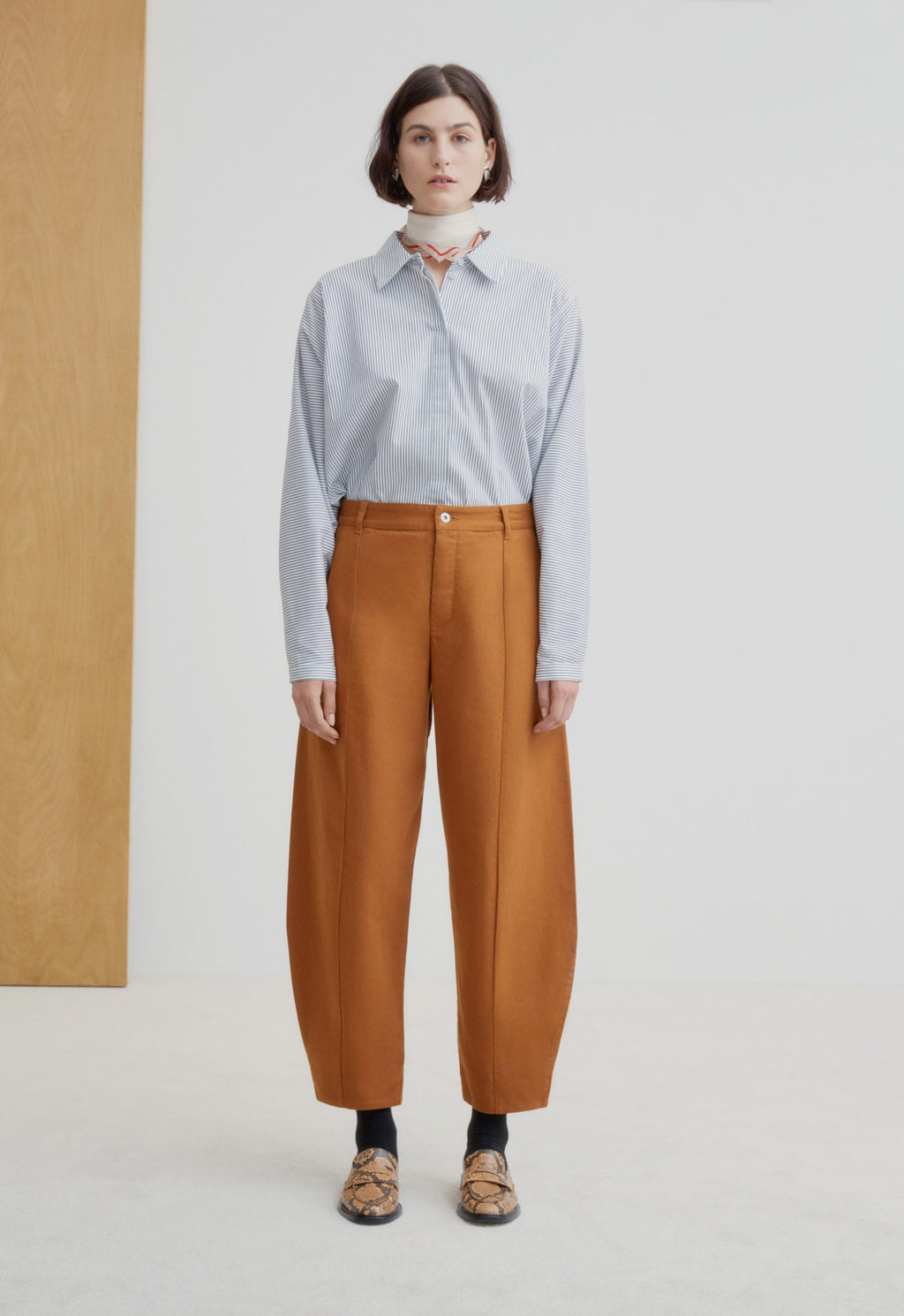 Sculptor Jeans Brass Denim, bottom, KOWTOW, - nois