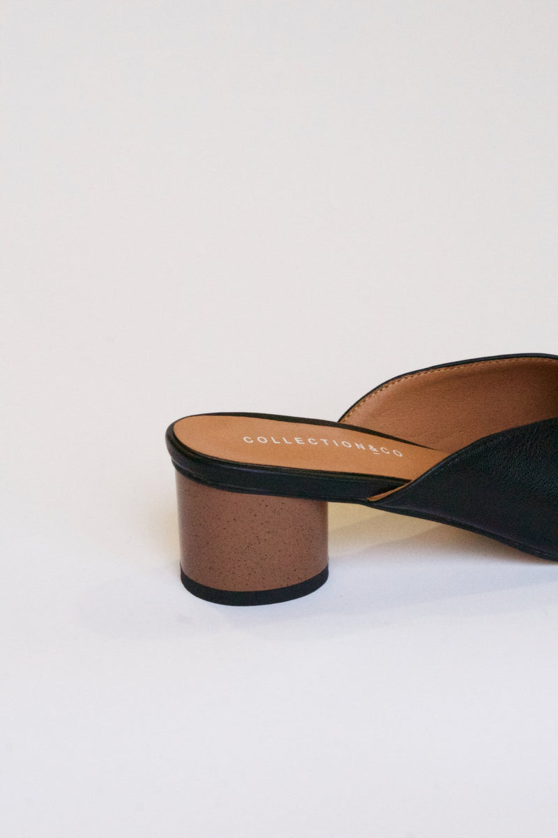 Kika Mules Black, shoes, Collection and Co, - nois