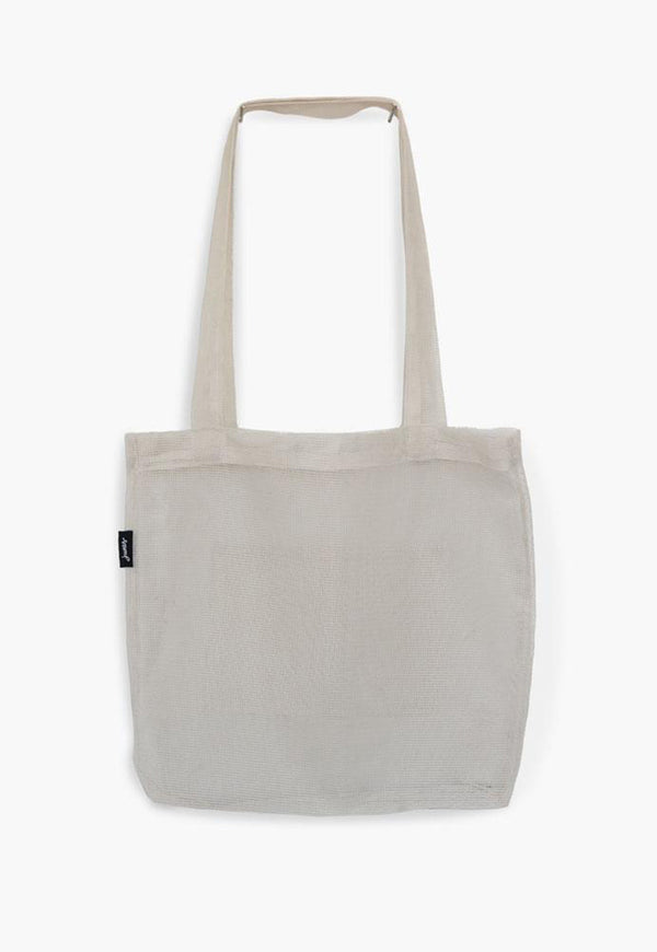 The Market Tote Bio-Knit Ivory