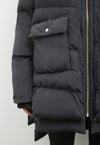 Lydon Faux Down Jacket Black, jacket, Embassy of Bricks & Logs, - nois