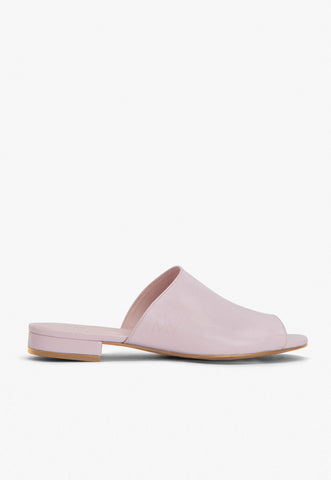 Chora Open Toe Mule in Blush
