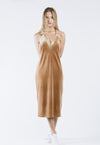 Simona Wrap Dress in Blush