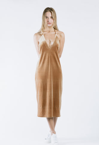 Note Wrap Dress
