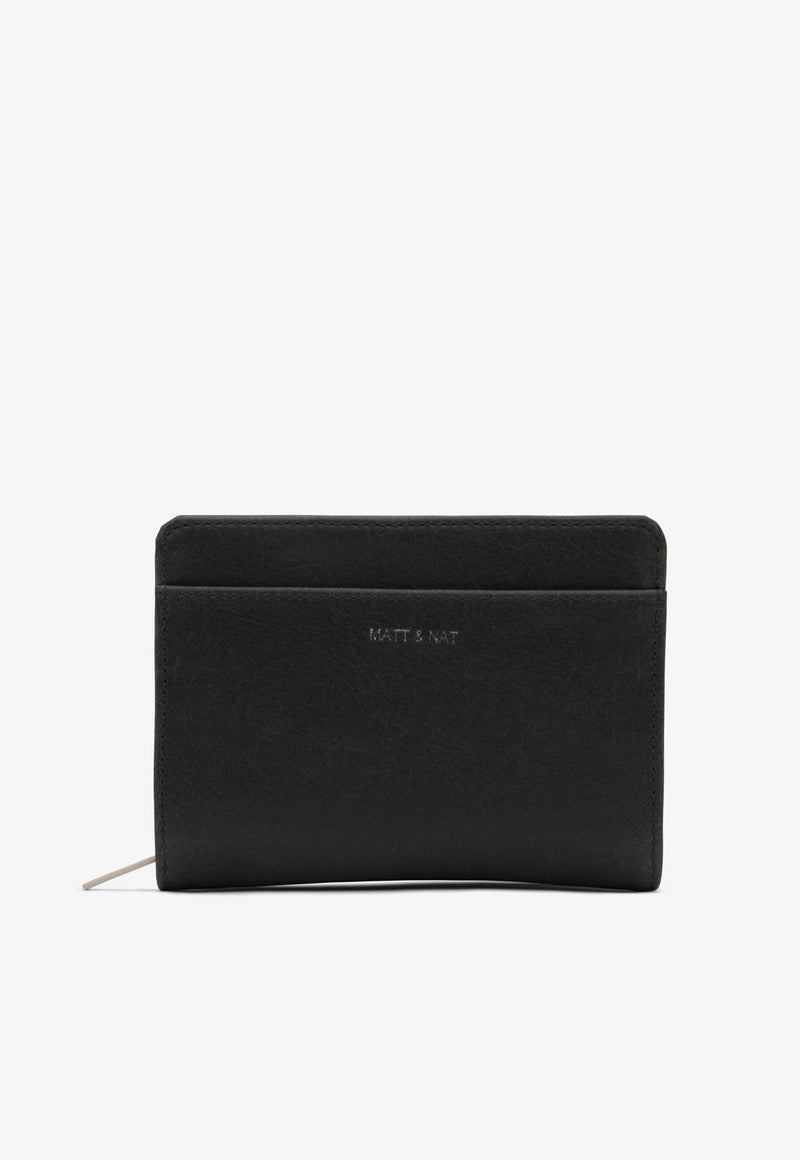 Webber Wallet in Black, wallet, Matt & Nat, - nois
