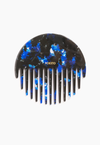 Wave Comb in Blue Multi