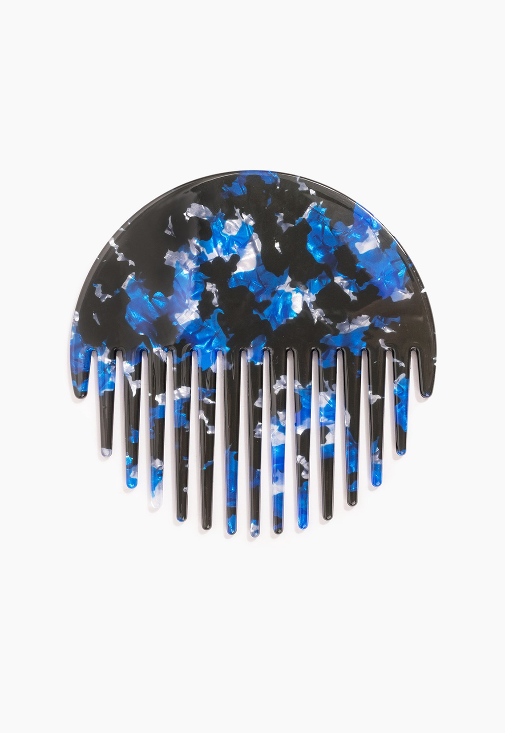 Circle Comb in Blue Multi, beauty, Poketo, - nois