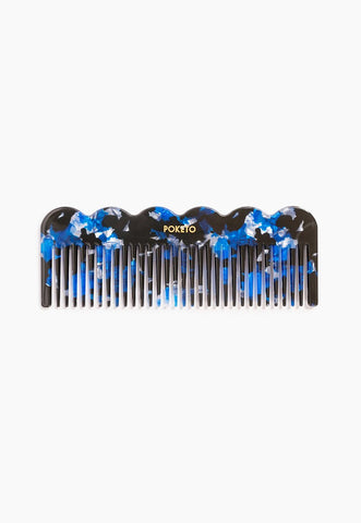 Wave Comb in Pink Multi
