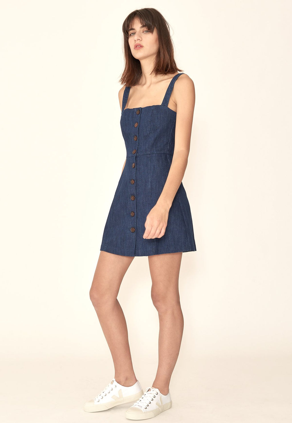 Emma Mini in Denim, dress, capulet, - nois