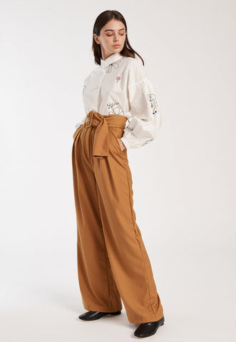 Curveball Belted Skirt