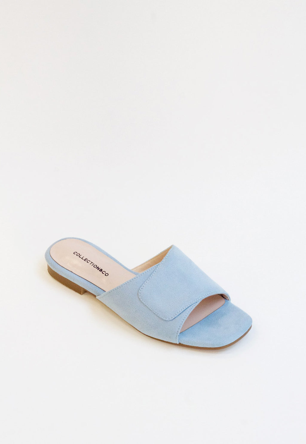 Elia Crossover Slide in Baby Blue, shoes, Collection & Co, - nois