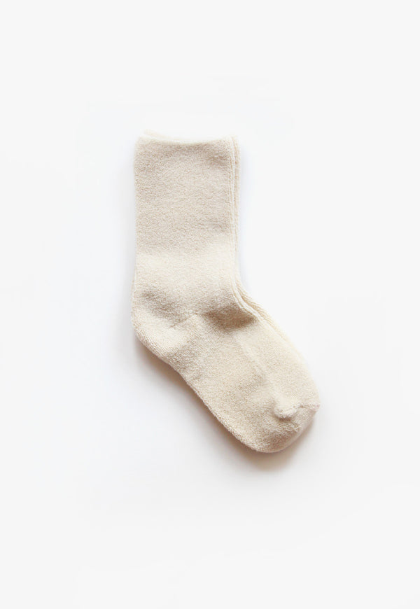 Cloud Socks in Ecru, socks, Le Bon Shoppe, - nois
