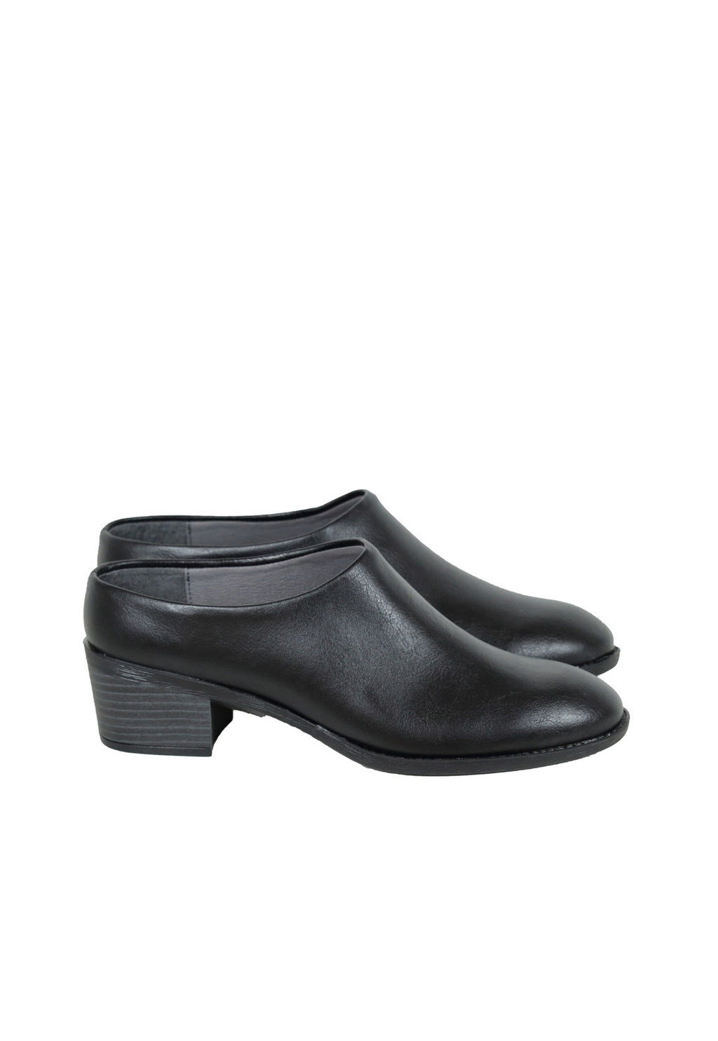 Ovyo Mules in Black, shoes, Bahatika, - nois