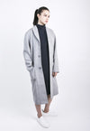 Puffer Coat in Grey