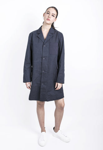 Unisex Pocket Shop Coat, jacket, Wisdom Apparel, - nois