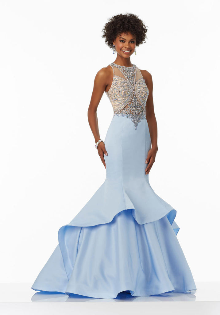 Mori Lee 99031 Light Blue