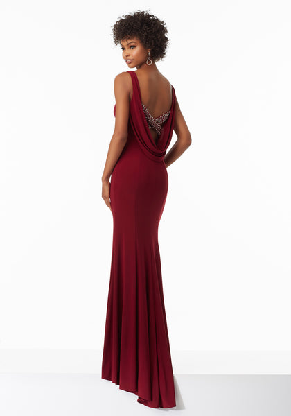 Mori Lee 99053 Bordeaux or Royal