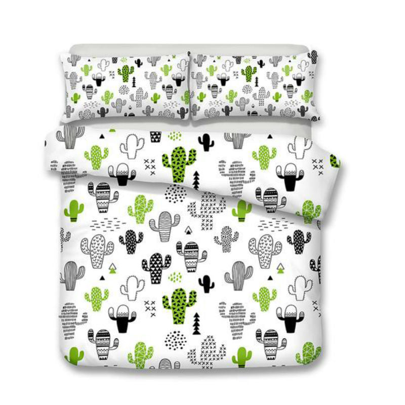 Colorful  Cactus Bedding Sets - Save 10% on 2 or more sets!
