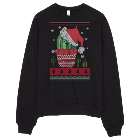 Image of Jolly Cactus Christmas Sweatshirt