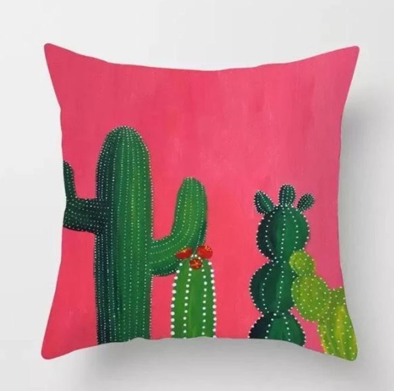 Colorful Cactus Decor Succulent & Cactus Pillow Covers