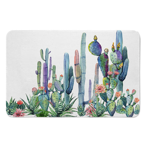 Colorful Cactus Shower Curtains