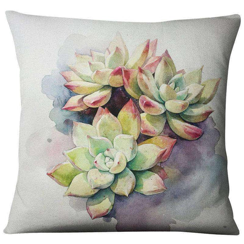 Image of Succulent Style Decorative Pillow Covers cactus home decor