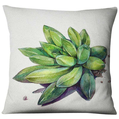 Image of Succulent Style Decorative Pillow Covers cactus decor