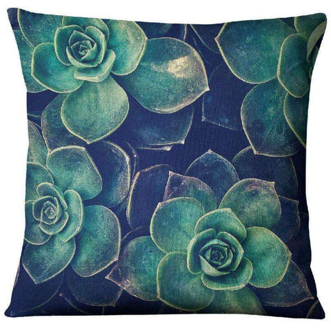 succulent pillow covers