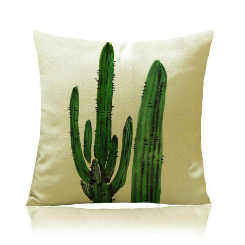 Image of Cactus Decor - Cactus Print Pillow Covers