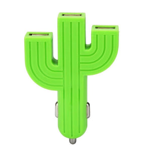 Cactus Inspired 3 Port USB Phone Charger