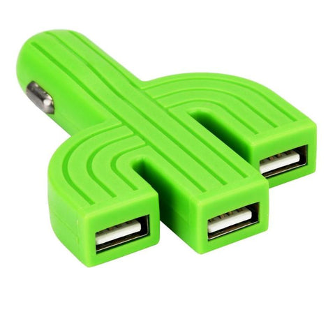 Cactus Inspired 3 Port USB Phone Charger - Today 5/8 Last Day!