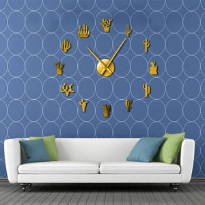 DIY Cactus Wall Clock - Limited Edition!