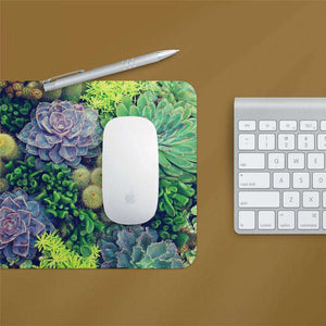 succulent mouse pad cactus home decor