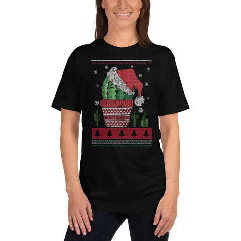 Jolly Cactus Christmas T-Shirt