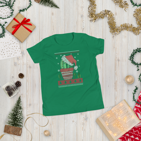 Image of Christmas cactus shirt